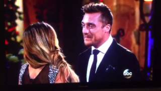 The Bachelor - Britt Nilsson gets out of the limo