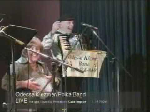 Odessa Klezmer Band LIVE on Cafe Improv