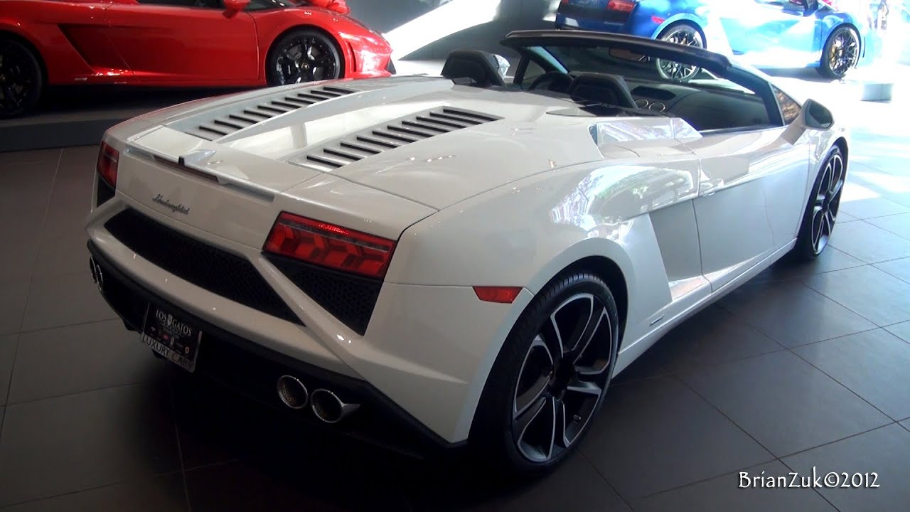 2013 Lamborghini Gallardo LP560 4 Spyder   YouTube