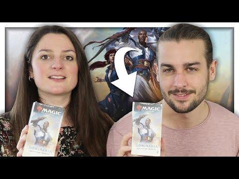 QUI GAGNERA LE DUEL ? | OUVERTURE DE PACK AVANT PREMIÈRE  MAGIC DOMINARIA