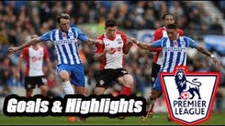 Southampton vs Brighton - Goals & Highlights - Premier League 18-19