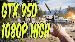 Far Cry 5 Benchmark Test | High Settings | Gtx 950 | Core i5 3470