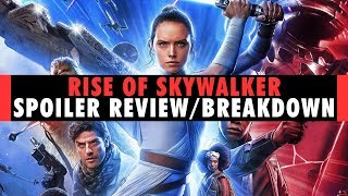 Star Wars: The Rise of Skywalker | Spoiler Breakdown & Review (MEGA SPOILERS)