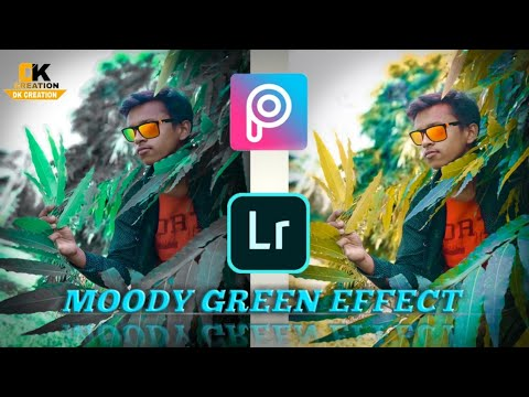 Moody Green Effect Photo Editing In Lightroom | Lightroom editing | Lightroom mobile tutorial thumbnail