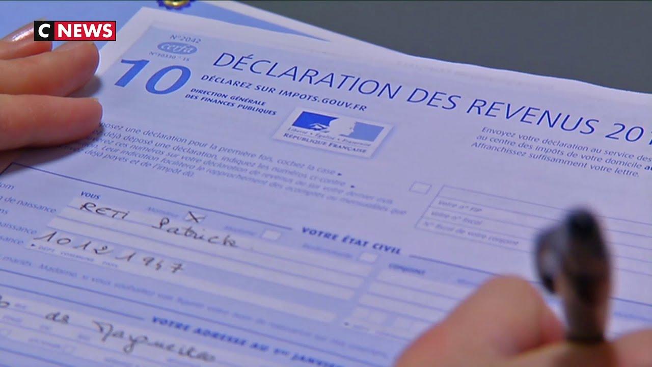 declaration des impots 2020 date