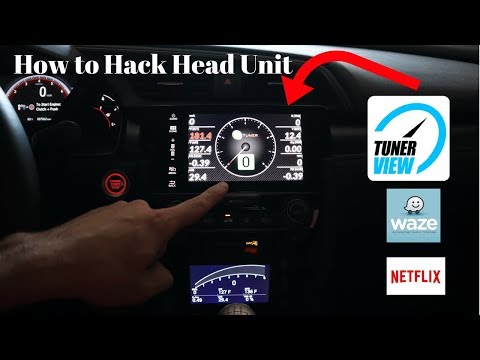 How To Hack Your Honda Head Unit **Without A Laptop**