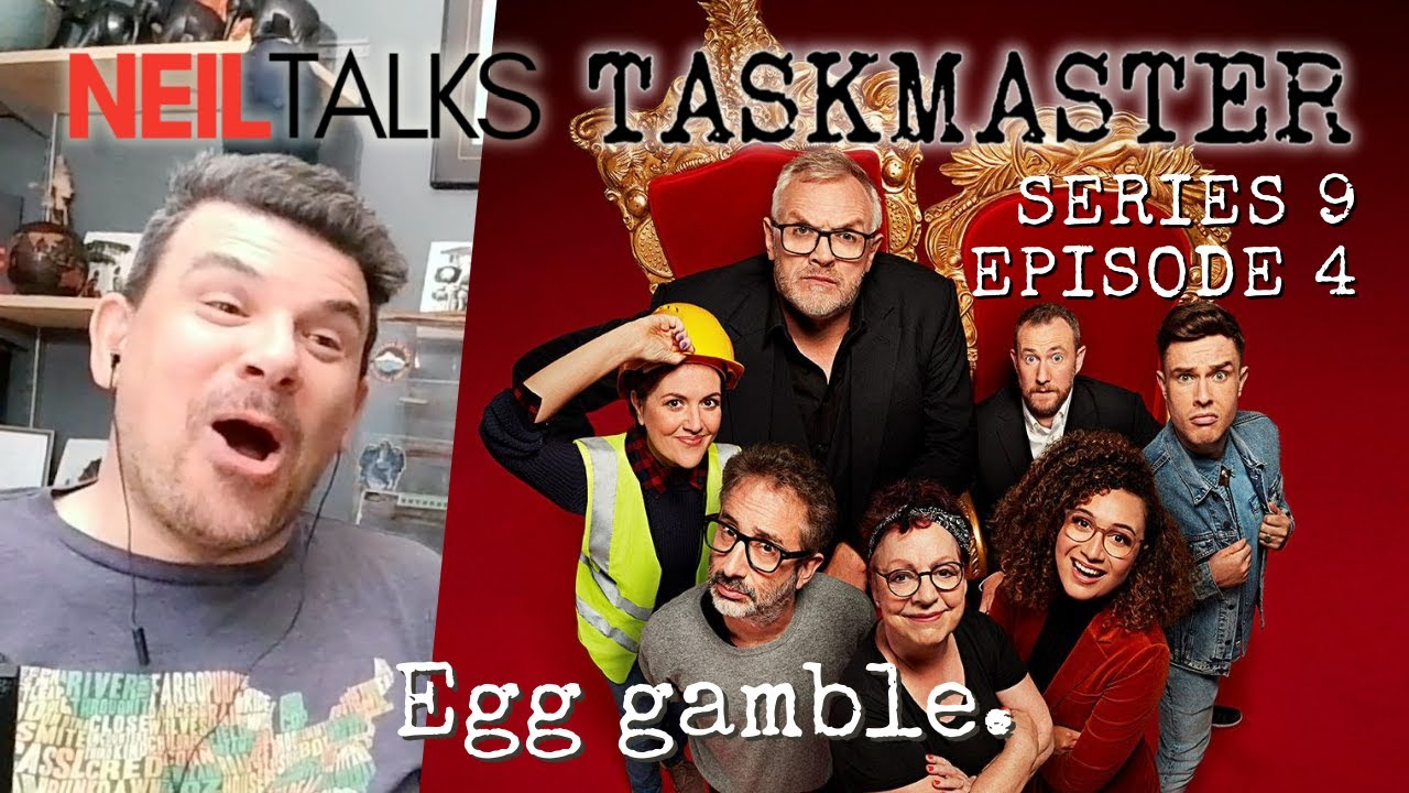 Download A Canadian finally watches Taskmaster Series 9 - Episode 4 Reaction (Life-sized board games!)