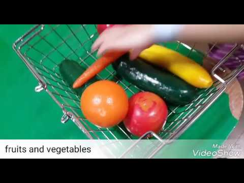 Mandarin Video Journal: fruits and vegetables