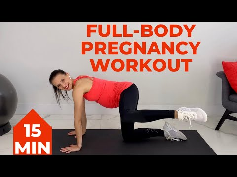 15 Minute Pregnancy Workout (1st Trimester, 2nd Trimester, 3rd Trimester)