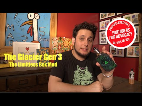 Limitless Box Mod and the Glacier V3