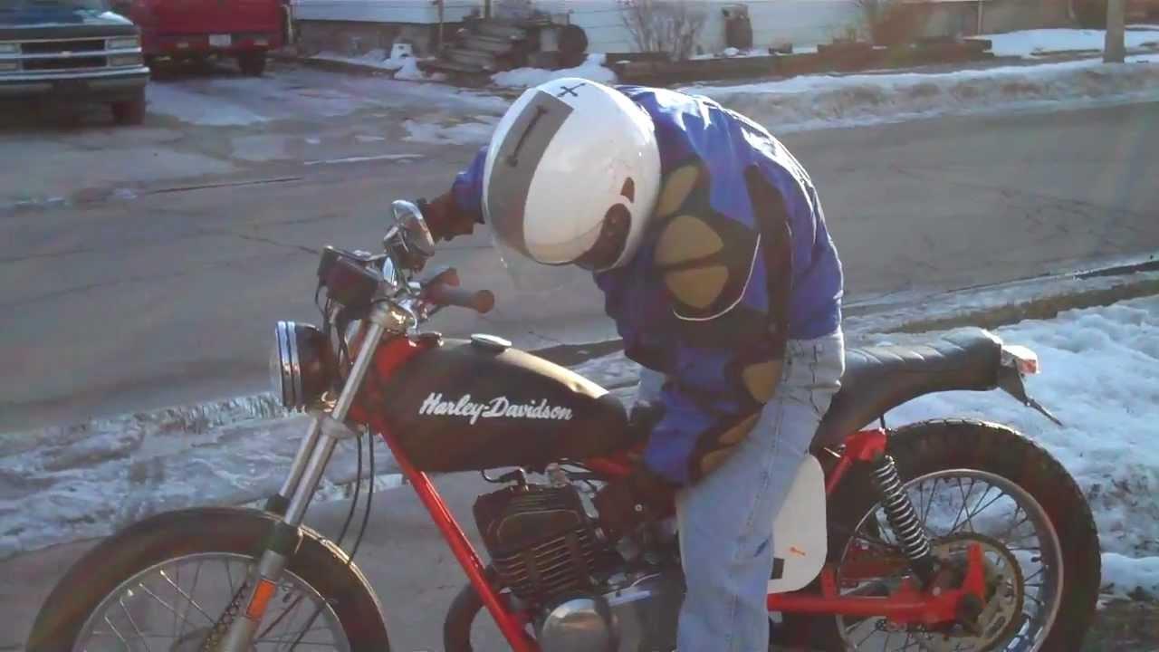 Harley Davidson Aermacchi MX-250 Street Tracker Short Ride