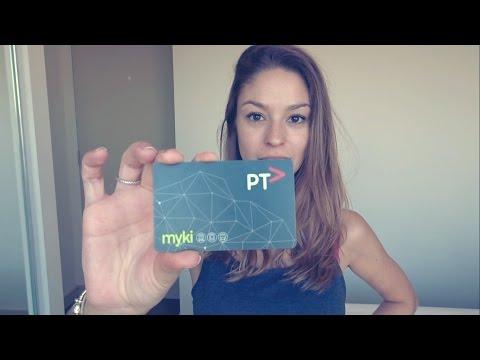O que é o Myki Card e como usar? Transporte Público de Melbourne