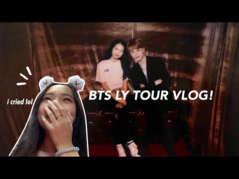 BTS LOVE YOURSELF TOUR VLOG (hamilton 9.20.18 & 9.23.18)