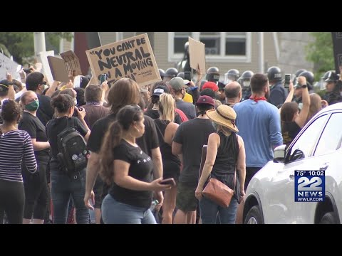 Chicopee among local communities seeing peaceful protests over the weekend