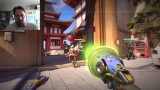 Overwatch Beta Gameplay (Mercy)