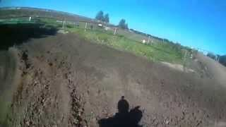 husqvarna cr 125 training bleiswijk new track