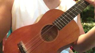 How to play Musical Mylow's ukulele beat freestyle part 1