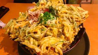 【大食い】天ぷら蕎麦(2kg)20分チャレンジ‼️〜ステルスそばというチャレンジメニュー〜【MAX鈴木】【マックス鈴木】