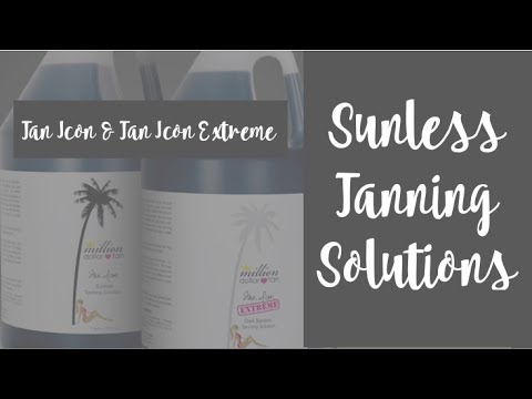 Million Dollar Tan's Sunless Tanning Solution Tan Icon