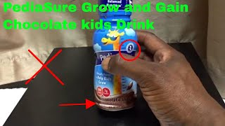 ✅  How To Use PediaSure Grow and Gain Chocolate Kids Drink Review
