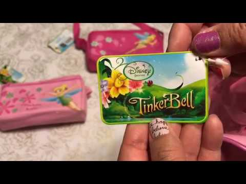 I Found Some Mini Tinkerbell Duffel Bags At My 99 Cent Only Store GIVEAWAY CLOSED