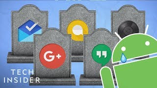 Google cancels, kills, and transitions a lot of products. Google ha...