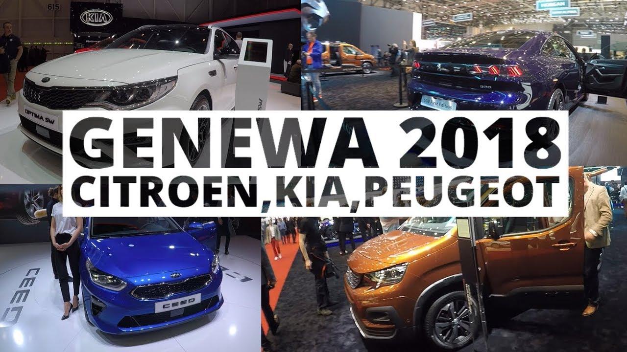 Genewa 2018 – Citroen, Kia, Peugeot
