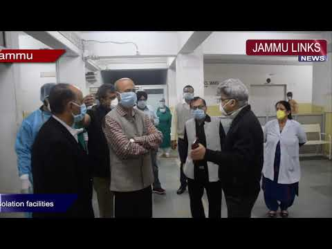 J&K Govt Ropes In Private Hospitals, Nursing Homes To Ramp Up Isolation Facilities