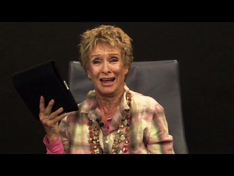 Cloris Leachman sings during