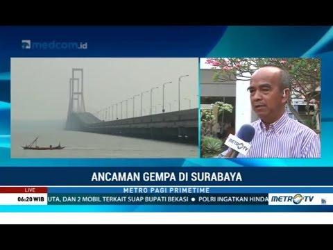 Mantap ! Surabaya Siap Jika Terjadi Gempa
