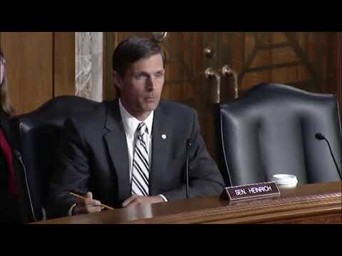 Heinrich Fights For Wildfire Funding Reform In Energy & Natural Resources Committee
