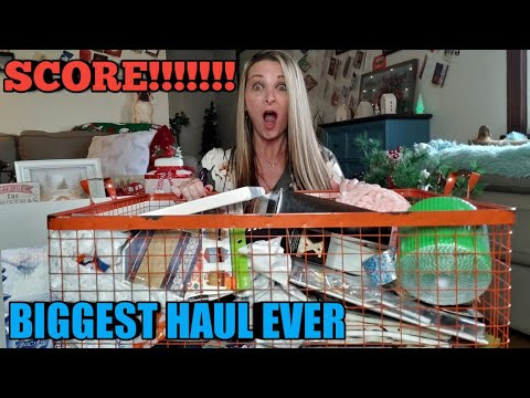 HUMONGOUS Hobby Lobby Clearance Haul* Over $1,200 worth for $100*SCORE!!!