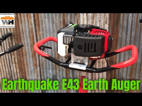 Repeat #EarthQuake E43™ 1-Man Earth Auger with 8 or 10 Inch