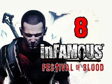 Infamous 2 Festival of Blood DLC: Walkthrough Part 5 To the Church Let's Play Gameplay
