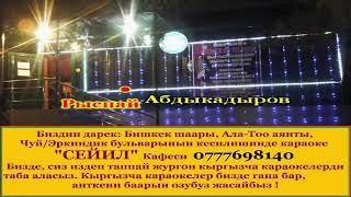 Рыспай Абдыкадыров - Сагындым Туулган жер сени караоке 🎤