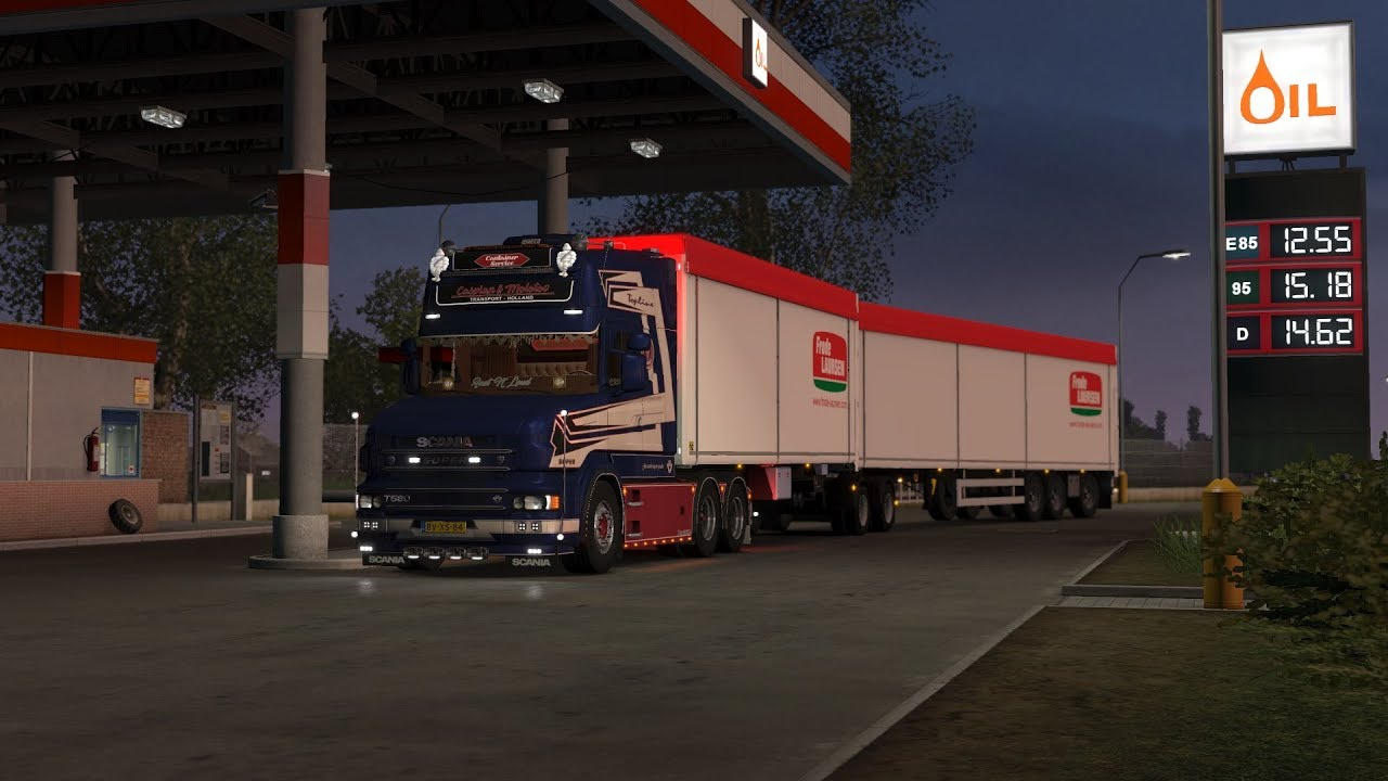 euro truck simulator 2 scania 4 series pulling hard sound. Black Bedroom Furniture Sets. Home Design Ideas
