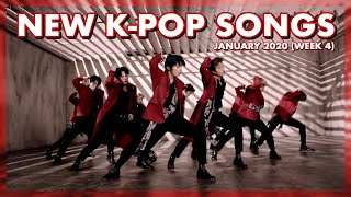 New K-Pop Songs | January 2020 (Week 4)