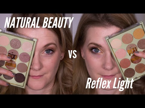 New Pixi Eyeshadow Palettes Natural Beauty and Reflex Light – Review and Swatches