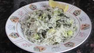 Iraqi Rice With Dill And Fava Bean/ Recipe#56