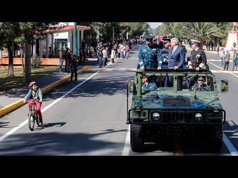 Día de la Fuerza Aérea Mexicana desde Base Aérea Militar Santa Lucía, Estado de México