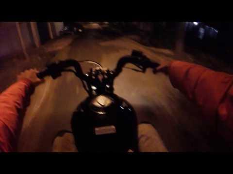 Honda Cg titan A fondo y practicando para colgarla Gopro.#StuntLove