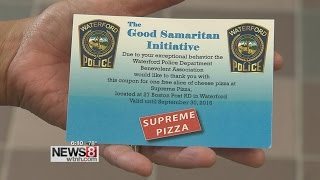Waterford police rewarding citizens for good deeds