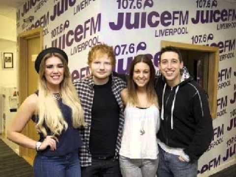 Ed Sheeran - Liverpool local radio 08/04/14