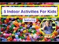 Rainy Day Kids Activities at Home: DIY Floor Is Lava Challenge: Kids Games To Play For Free: