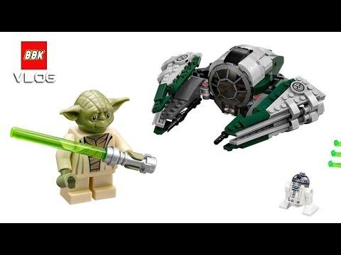 Lego Star Wars Yodas Jedi Starfighter 75168 Quick Lego Review Youtube