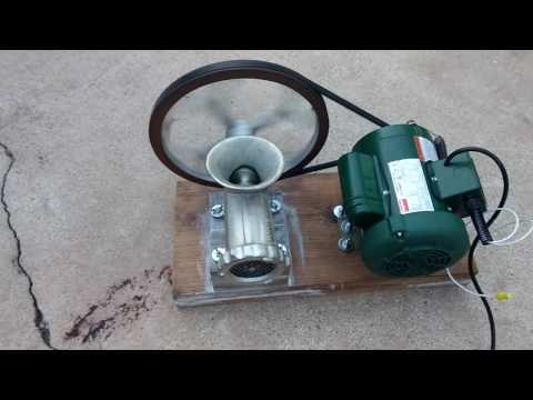 #22 motorized meat grinder part 1
