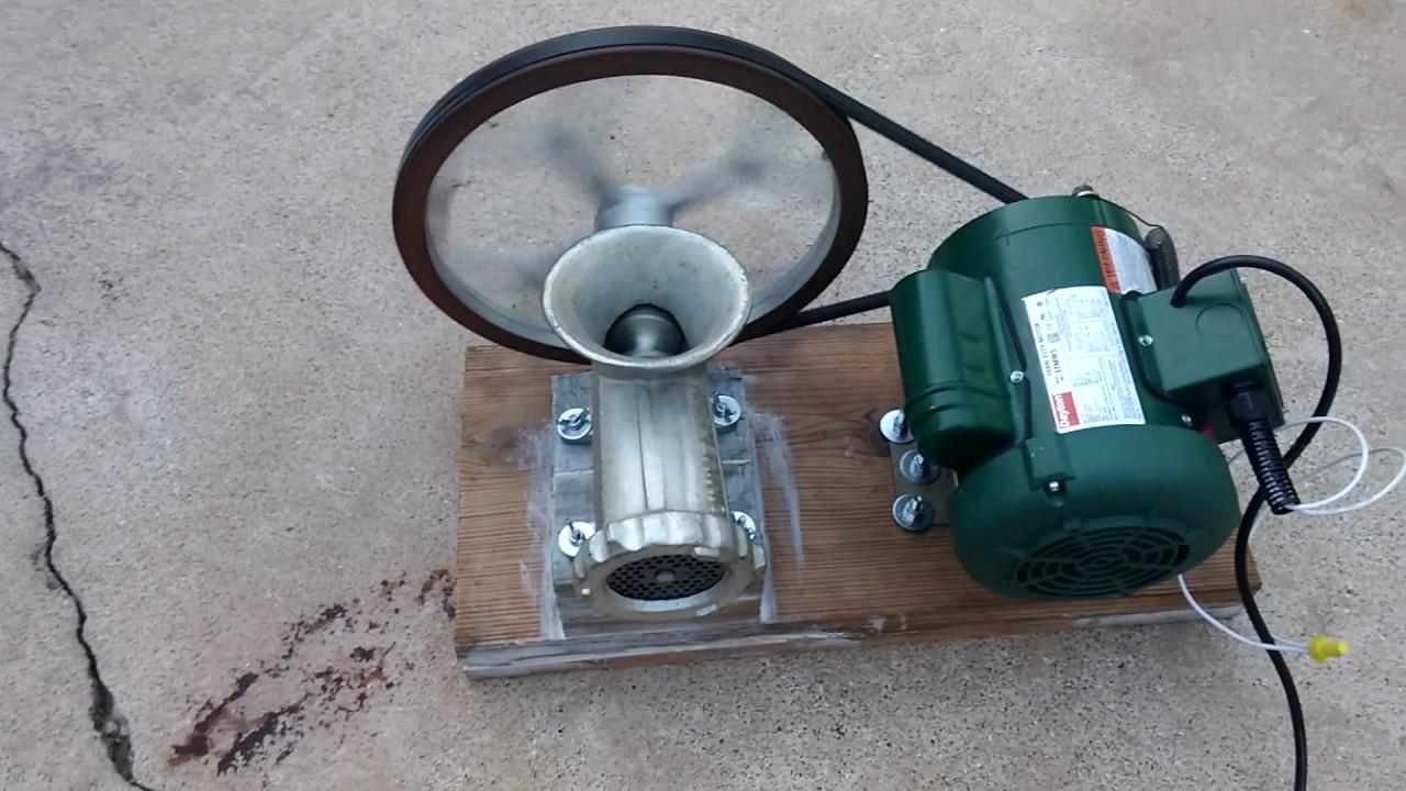 22 motorized meat grinder - part 1