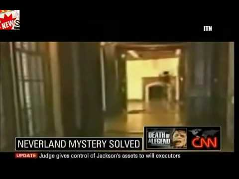 Michael Jackson's Ghost at Neverland Solved! - YouTube