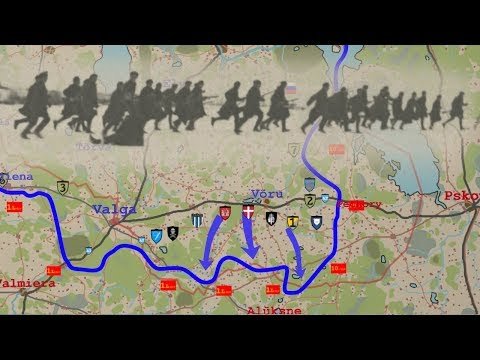 Estonian War of Independence animated