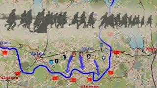 Estonian War of Independence animated